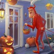 Игра Привет сосед: Хеллоуин