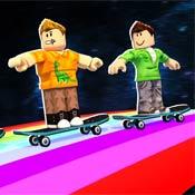 Игра Роблокс: Трюки на скейте