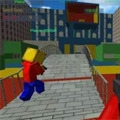 Игра Роблокс: Кубическая месть