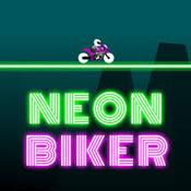 Игра Неоновый мотоцикл