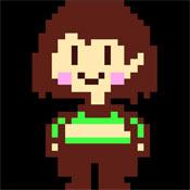 Игра Андертейл: маленькая Чара