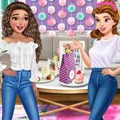 Игра Моана и Белль: Современные принцессы