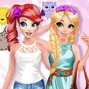 Игра Одевалка принцесс на оценку