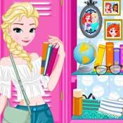 Игра Принцессы диснея в школе