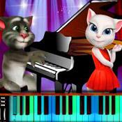 Игра Кот Том пианист