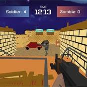 Игра Блок страйк: Стрельба из оружия