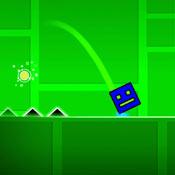 Игра Геометрия даш: Летящий куб