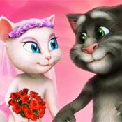 Игра Моя говорящая Анжела: Невеста