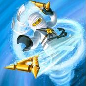 Игра Ниндзяго: Зейн стреляет из лука