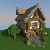 Игра Мир Майнкрафт: строить дома