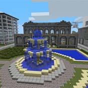 Игра Майнкрафт: Бегом по блокам