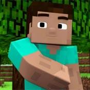 Игра Майнкрафт для девочек: Стильный Стив