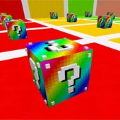 Игра Майнкрафт лаки блоки