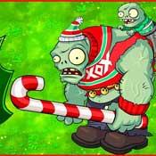 Игра Новогодние приключения зомби