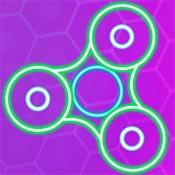 Игры Спиннер: Неоновые линии