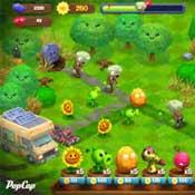 Игра Зомби против растений 3: Бой гороха