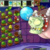 Игра Зомби против растений 5: Меткий стрелок
