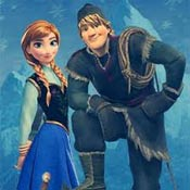 Игра Бродилки Холодное сердце: Кристофф и Анна