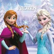 Игра Frozen: Соревнование сестер