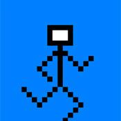 Игра Генри Стикмен в пиксельном мире