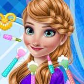 Игра Холодное сердце: Анна и академия макияжа