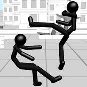 Игра Стикмен: Драки черных человечков