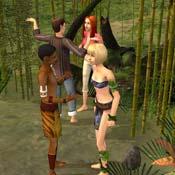 Игра Симс 2 Истории робинзонов