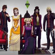 Игра Симс 4 Вампиры