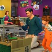 Игра Симс: Виртуальная семья
