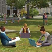 Игра Симс: Жизнь студентов