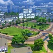 Игра Выбираем город для Симов