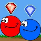 Игра Красный шар и синий шар