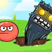 Игра Красный шар: Подземные ходы