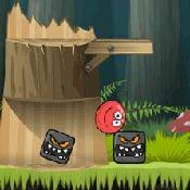 Игра Красный шар: Веселая бродилка