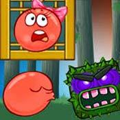 Игра Несносный красный шар