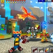 Игра Пиксель ган 3д