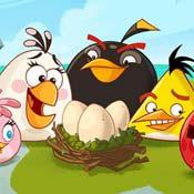 Игра Энгри бердз: Защити яйца