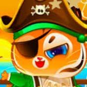 Игра Котик Бубу: Пиратские приключения