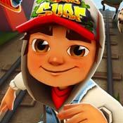 Игра Сабвей Серф: Бегающий мальчик