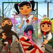 Игра Сабвей Серф: Приключения в Токио