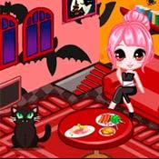 Игра Дом для девушки-вампира