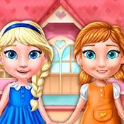 Игра Дом для сестричек