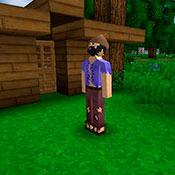 Игра Майнкрафт: Строим дома