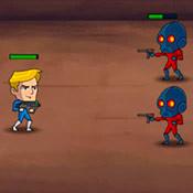 Игра Рик против роботов