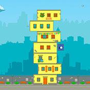 Игра Сделай высокий дом