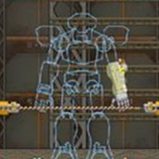 Игра Собери боевого робота