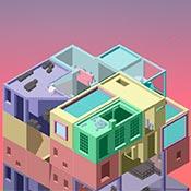 Игра Создай блочный дом