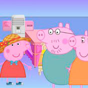 Игра Свинка Пеппа: Дизайн дома