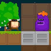 скрин игры Буйвол охраняет ферму