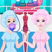 скрин игры Доктор оперирует Барби